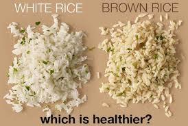 brown rice vs white rice. Wonderful White To Brown Rice Vs White