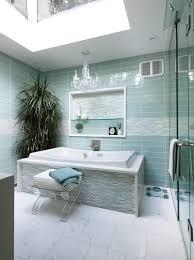 bathroom glass tile accent ideas bathroom contemporary with bowl sink glass tile blue tile