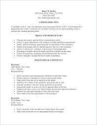 Bartending Description For Resume Bartender Resume Objective ...