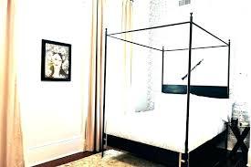 black wood canopy bed – plantezombie.org