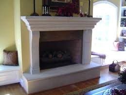 fireplace with hearth custom designed cast stone fireplace with raised hearth and mantel the firebox is
