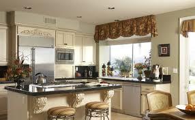 image of valance ideas for kitchen windows