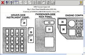 similiar 1994 toyota camry fuse box keywords 1994 toyota camry fuse box