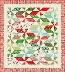 Moda Fabrics Free Patterns Cool Quilt Inspiration Free Pattern Day Christmas Quilts Part 48