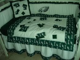 custom made baby crib nursery bedding set m w philadelphia eagles nfl fabric 700786089984