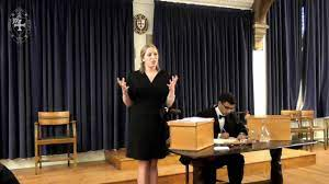 Georgina Mack   This House Does Not Believe that Israel is a Destabilising  Force   the Durham Union - YouTube