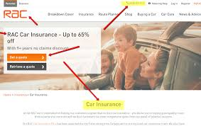 rac car insurance and family
