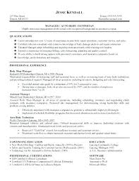 Auto Tech Resumes Auto Mechanic Resume Automotive Technician V Summary Body Objective