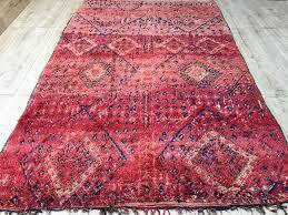 moroccan rug tapis berbere tapis berberes beni mguild