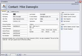 Access 2013 Templates Download Sales Contact Management Database Template For Access 2016