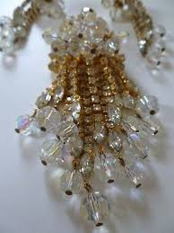 vintage 1960 s d e juliana shimmering austrian crystal chandelier demi parure 482875059