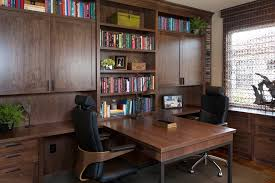 robeson design home office partners desk inspiration for a mid sized contemporary study room remodel in beautiful office desks san