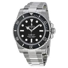 rolex submariner automatic black dial men s watch 114060