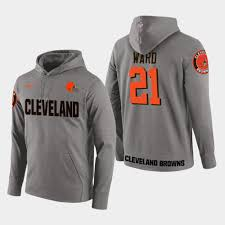 Player Cleveland 21 - Men's Season New Denzel Browns Ward Hoodie Pullover Gray Apparel facafacda|Packers Vs Raiders Tickets
