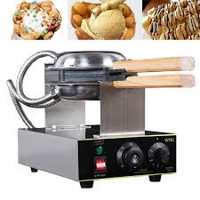 We'll review the issue and make a decision about a partial or a full refund. Nonstick Stainless Steel Electric Eggs Cake Oven 110v Waffle Maker Machine Chinese Eggettes Puff Machine Cooker Kitchen Supp Cake Oven Waffles Maker Egg Waffle