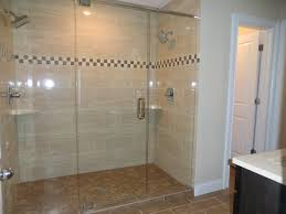 Glass Box with Double Shower Idea for Impressive Bathroom Idea
