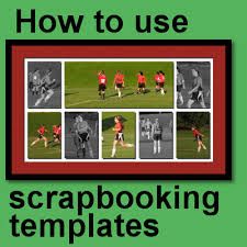 How To Use Scrapbooking Templates Scrapbook Campus