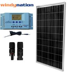 complete solar system 12 volt wiring diagram wiring library eco solar kit 100 watt 12 volt solar panel user settable lcd charge controller