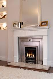 stovax burlington polished cast fireplace front with pembroke mantel holyrood fire