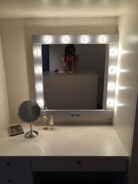 How To Make A Vanity Mirror With Lights Enchanting Make Up Mirror With Lights Vanity Mirror In Many Colors Vanity
