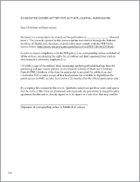 How To Write A Cover Letter For A Journal How To Write A Killer Cover Letter In The Century Primer