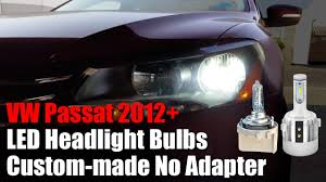 How To Install Low Beam H7 LED Headlight Bulbs On A 2015 ...