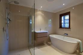bathroom renovators. Timber Window Frame In Bathroom, Free Standing Bath, Wall Mounted Bath Spout Bathroom Renovators I