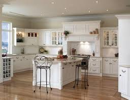 small recessed lighting ideas with soft grey ceiling color and classic white cabinet for country styled kitchen ideas