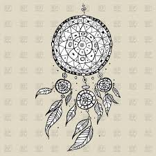 Drawn Dream Catchers Hand drawn dream catcher Royalty Free Vector Clip Art Image 100 38