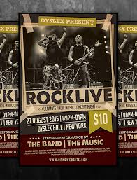 Concert Flyer Templates Free 19 Concert Poster Templates Designs Free Premium