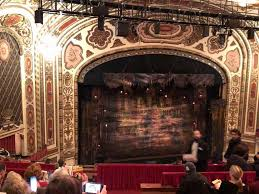 Cadillac Palace Theater Section Balcony L Row H Seat 1