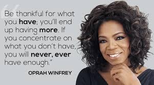 Oprah Famous Quotes