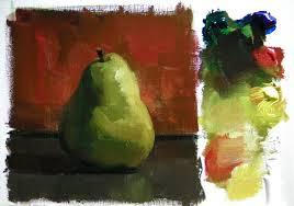 pear colour study