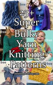 Super Chunky Yarn Patterns
