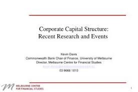 sample essay about research paper on capital structure impact of capital structure on firm performance evidence from i firms conducted a research on 77 companies listed capital structure