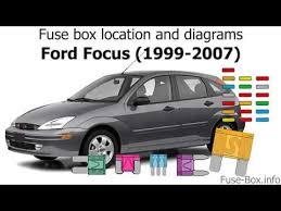 06 Ford Focus Fuse Diagram 03 Ford Focus Fuse Box Diagram