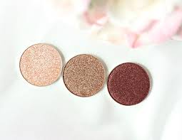 in the spotlight grandstand showtime makeup geek foiled eyeshadows
