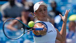 Ashleigh Barty wins tennis tournament ...