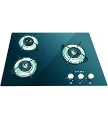 top stove cast iron glass