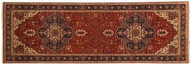 4x12 heriz rust oriental rug runner 043775