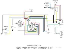 modern vespa light power this is the wiring diagram no rectifer
