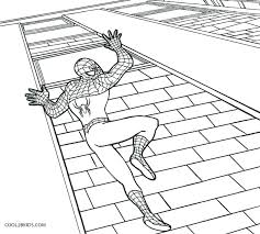Spiderman Coloring Pages Online Colouring Free Printable Pizzafood