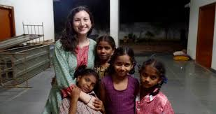 about the program johnson scholars home santa clara university amy lutfi johnson scholar 18 volunteers in kadapa at a women s home through s global fellows program