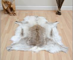 perfect faux animal skin rugs