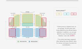 Shubert Theater Nyc Seating Chart 17 Experienced Town Hall Nyc Seating Map