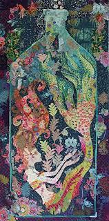 Sirene Collage Quilt Kit by Laura Heine - 0 & Sirene Collage Quilt Kit by Laura Heine Adamdwight.com