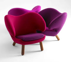 furniture  chic colorful comfortable modern chair style for
