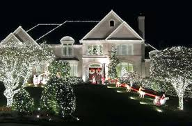 outdoor xmas lighting. Christmas Exterior Lighting Ideas. Outdoor Ideas Image Of Mesmerizing Trees D Xmas H