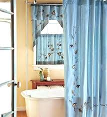 shower and window curtain sets shower window covering bathroom window shower curtain window treatments design ideas shower and window curtain