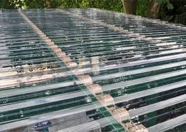 transpa corrugated polycarbonate sheets for roof covering 0 8 1mm thickness